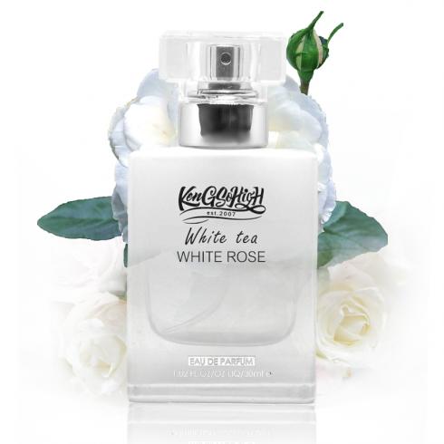 White tea white rose